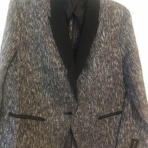 NWOT. Festive tweed blazer.